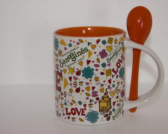 Taza San Ginés Love Naranja