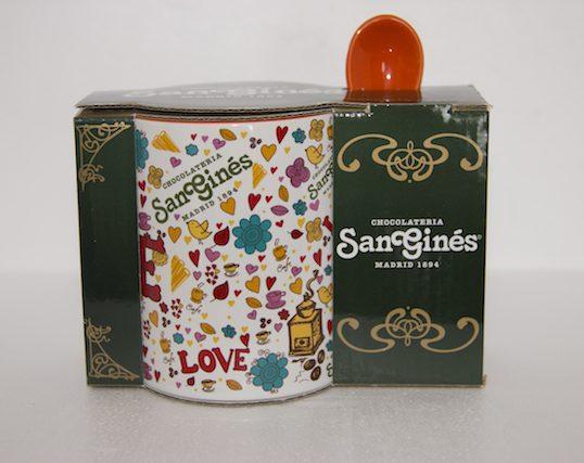 Taza Love Chocolateria San Gines