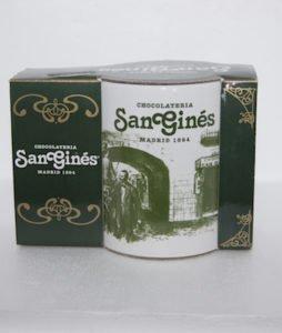 Taza Chocolatería San Ginés Gentleman 1894
