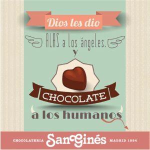 Eslogan Chocolatería San Ginés