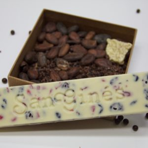 turrón chocolate blanco
