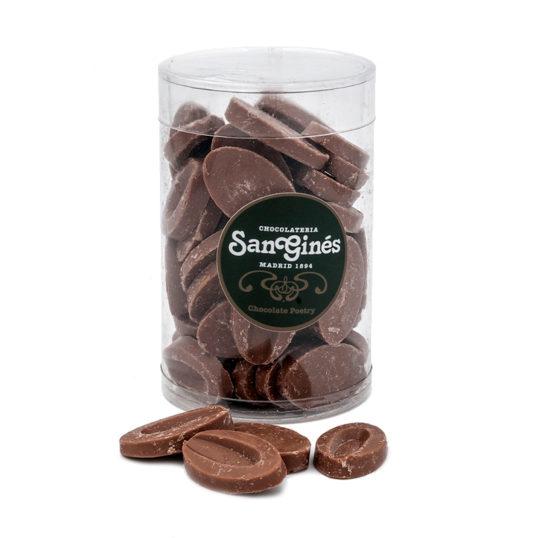 Monedas chocolate con leche